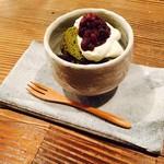 矢野善 - 煎茶シフォンケーキ