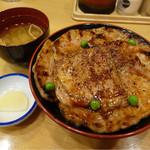 豚丼のぶたはげ - 料理写真:特盛豚丼(1,200円税込)