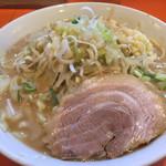65862581 - らーめん(豚一切れ)野菜少なめニンニクアブラネギ