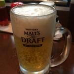 曽さんの店 - 生ビール