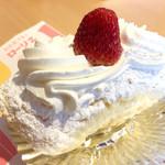 純欧風洋菓子 ローリエ - バナーヌ。たっぷりの粉砂糖が甘い。