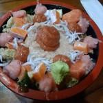 ゆたか寿司 - 日替わり海鮮丼
