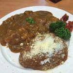 レストラン グリル サクライ - チリバーグカレー