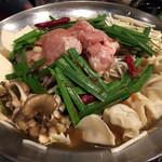 居酒屋 NIJYU-MARU - 【花まるコース】全8品・飲み放題付き@4000円の 《ニジュウマルの鶏鍋》