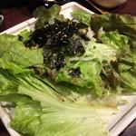 居酒屋 NIJYU-MARU - 【花まるコース】全8品・飲み放題付き@4000円の 《巻き野菜naチョレギサラダ》