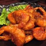 居酒屋 NIJYU-MARU - 【花まるコース】全8品・飲み放題付き@4000円の 《自家製チリソースの海老チリ》