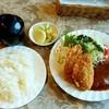 プレ・サレ - 料理写真:レストラン プレ・サレ@神栖市 ランチ ハンバーグとカキフライ