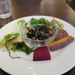 Organic Cafe ゆきすきのくに - デリ小皿200円