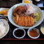 魚荘 - 料理写真:とりかつ定食