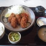海鮮蔵 魚魚魚 - カキフライ定食