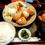 65870879 - とん平@愛宕(千葉) ヒレマヨ定食