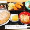 弥生寿司 - 料理写真:マグロフライ定食(2017.4.22の日替わりランチ)