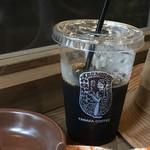 やなか珈琲店 - アイスコーヒー レギュラーサイズ:240円