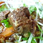 wagyu焼肉 伊萬里 GINZA - 温麺にもカルビが