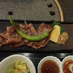 日本料理 きた山 - 和牛炙り焼御膳の和牛炙り焼
