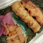 ニューアカシヤ - 料理写真:のりしゃけ弁当 420円