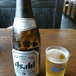 藤吉 - 瓶ビールd(^-^)