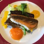 65878085 - ホウボウのポワレと春野菜のグリル