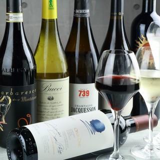 ボトルワイン飲み放題「ワインバイキング」