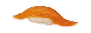 すしざんまい - サーモン 玉子 98円(税別)