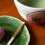 6588758 - 抹茶と和菓子のセットは900円