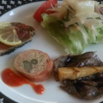 アランチョ - 料理写真:前菜です