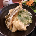 富貴堂 - 天丼(夜定食)