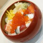寿司処 江戸金 - ばらちらし(950円)2017年4月