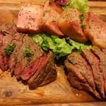 イートミート アット フランダーステイル - 肉三種盛り合わせ