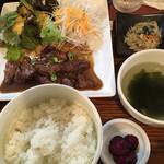焼串にくらぼ - ハラミ定食880円
