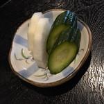 みづま - 昼のサービスお新香2017年4月