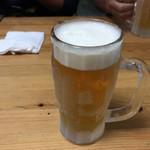 居酒屋 源 - ドリンク写真:2017年04月21日  オリオン生ビール(中)500円