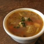 ル・シァレ - 野菜スープ