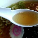 手打蕎麦 きふね - スープの感じ
