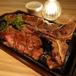 エミリアーノ - ☆肉厚なTボーンステーキ(^^♪☆