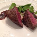 フリュウ - 料理写真:オリーブ牛のステーキ