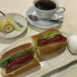 茶房本社 - モーニングセットC