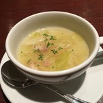 ハンバーグ&ステーキ 芝浦 - スープ