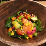 鯛之鯛 - サラダは油の味だけ‥