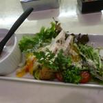 65889723 - 長州鶏のハムのサラダ