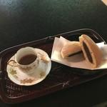 ぼうずン・コーヒー - どら焼きセット