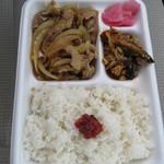 心亭 - 料理写真:豚肉生姜焼き弁当¥540
