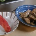 天満酒蔵 - 明太子と、鮭のあら煮