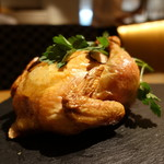 HYTOKYO - ☆トリュフご飯を詰め込んだ雛鳥のロースト(●^o^●)☆