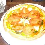 キューブバー - マルゲリータピザ