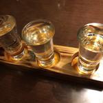 喜口屋 - 純米酒三酒