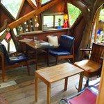 なんじゃもんじゃカフェ - ツリーハウス内の席