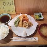 登良屋 - 天ぷら一人前盛り