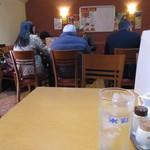 東海菜館 - ご合席で着席です