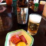 登利平 - ノンアルコールビール(¥370)。東京までのドライブも、また楽し(^-^)